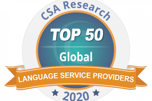 TOP 50 Global Language Service Providers 2020 - news article