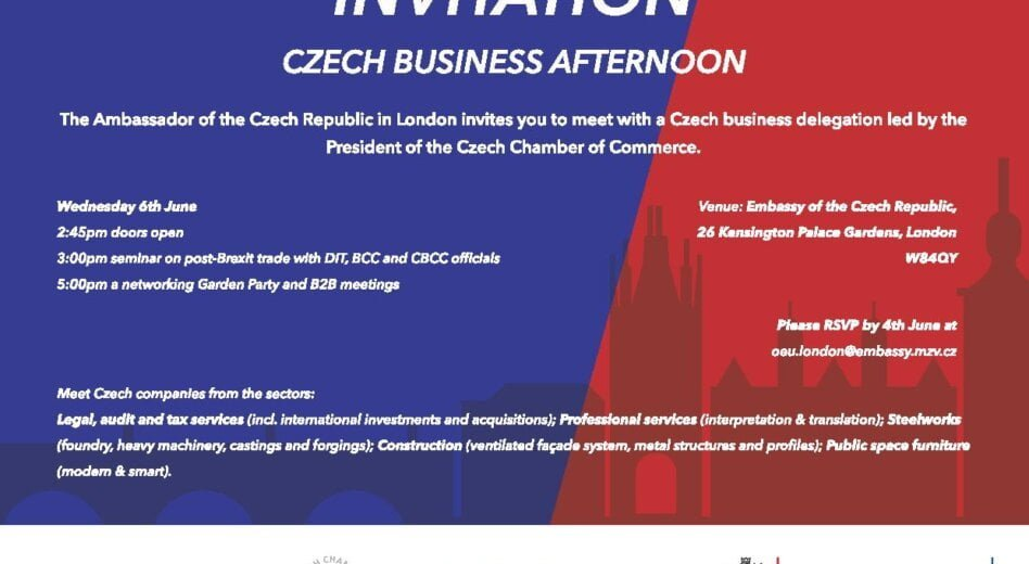 Czech Business Delegation in London 6-7th June