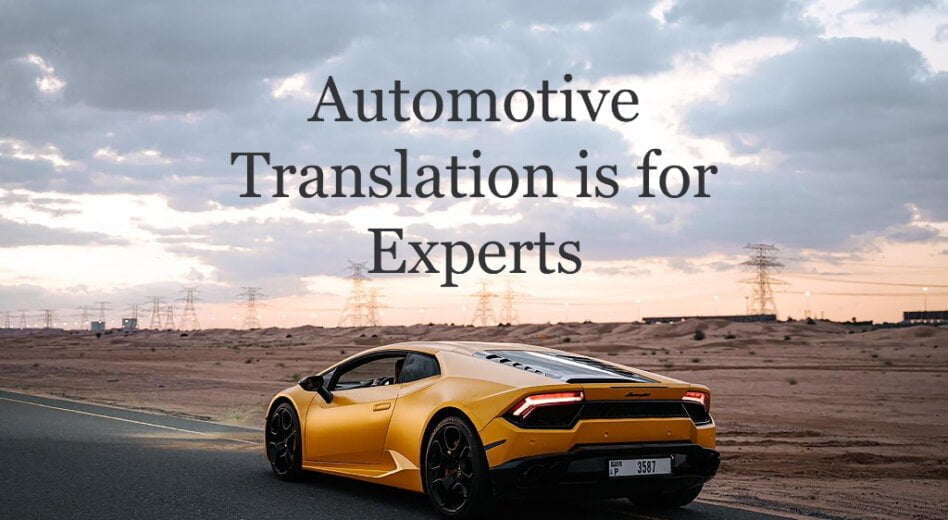 Translation for a Global Giant: the Automotive Industry