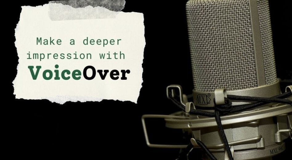Getting the Most Out of Voiceover